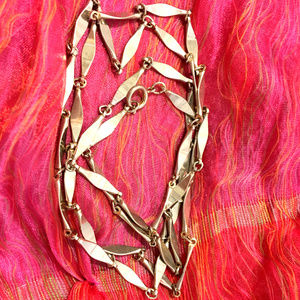 Vintage Stainless Steel Chain Necklace